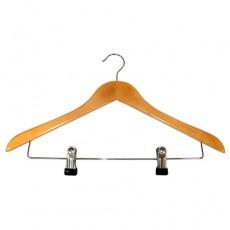 원목옷걸이(2cm집게형)