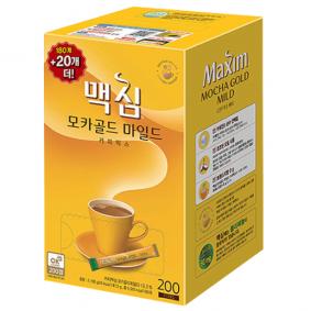 커피(동서 맥심모카골드200T)